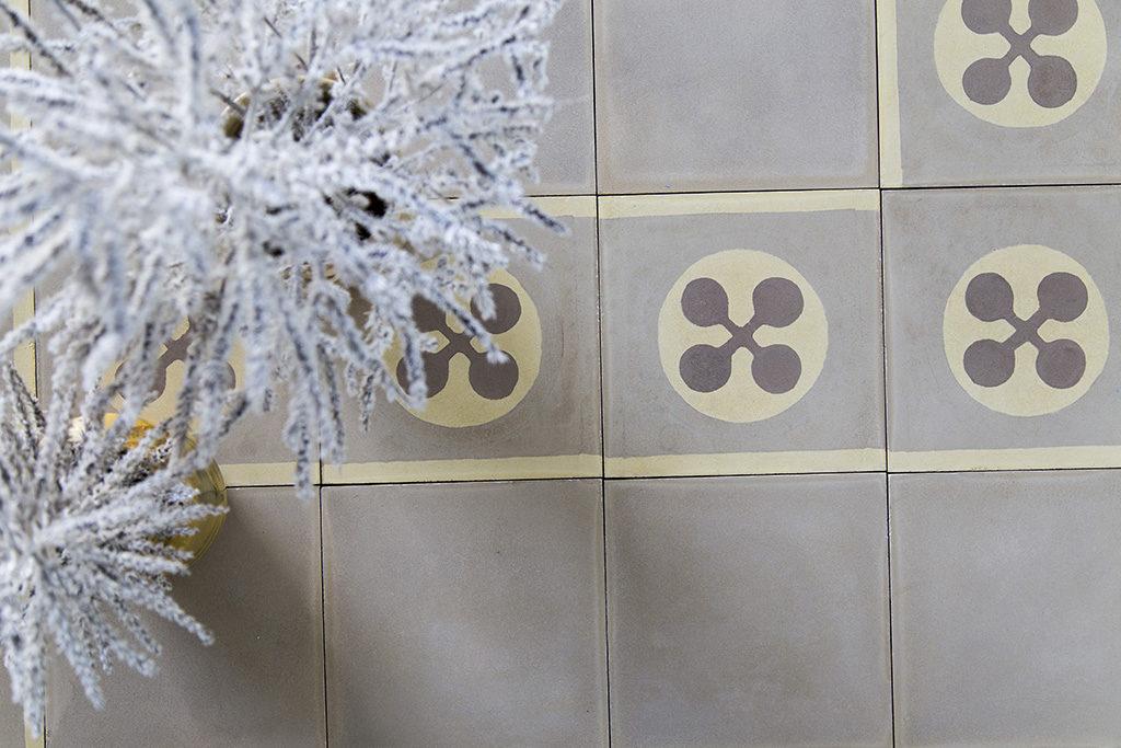 Cementine per decoratori audaci come mescolare piastrelle diverse