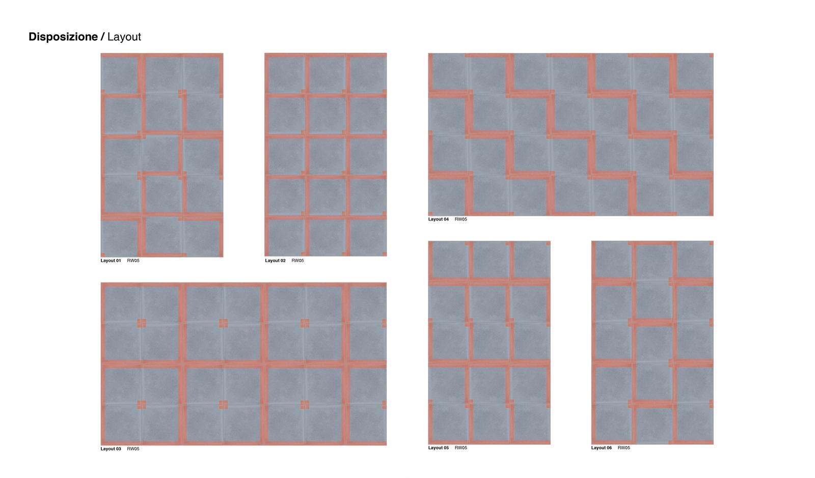 codifiche Rewind pavimenti sansone